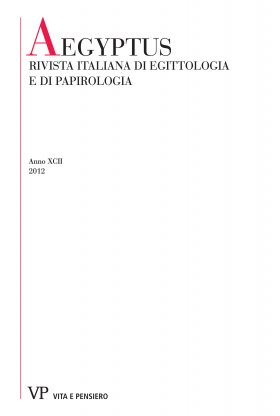 Labour, Handcraft and Profession in the Coroplastic Art of