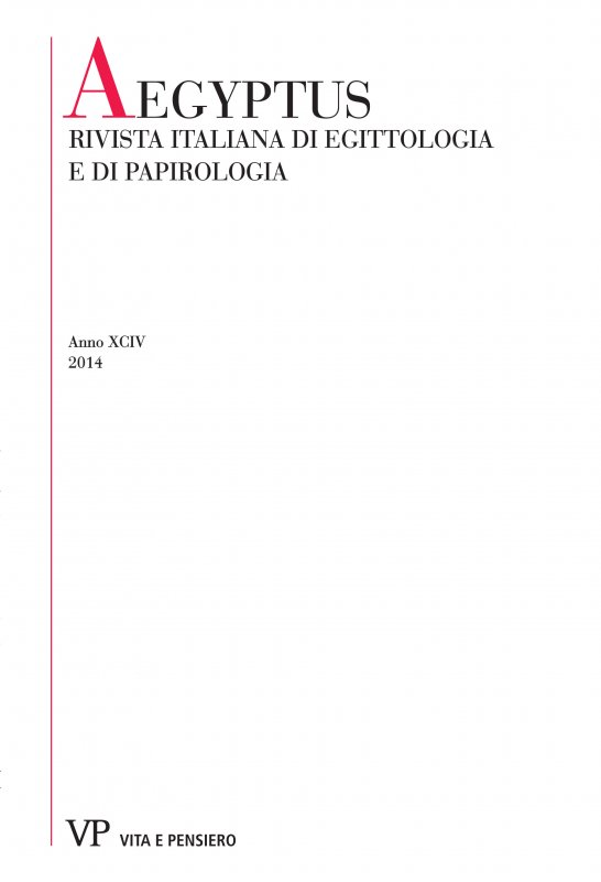 Thetati in the Roman Military Papyri: an Inquiry on Soldiers Killed in Battle