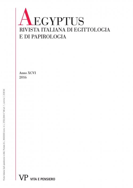 Verso una nuova edizione del secondo rotolo di P.Rev. Laws: osservazioni su alcune colonne della sezione sui tessuti